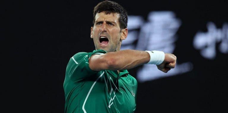 Djokovic passa Federer e já é o quarto mais eficaz em finais de Grand Slam