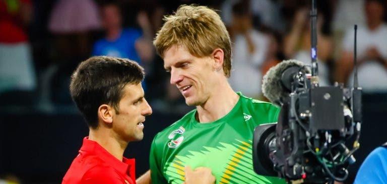Djokovic e o regresso de Anderson: «Fiquei surpreendido com o nível dele»