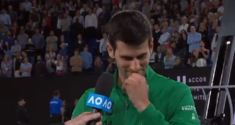 [VÍDEO] Djokovic chora ao relembrar 'mentor' Kobe Bryant