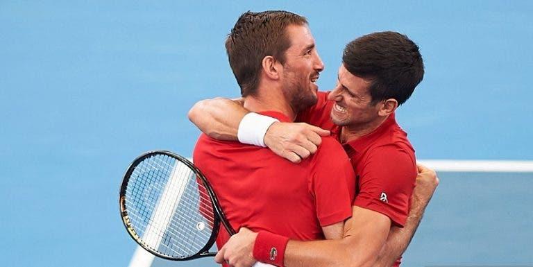 Sérvia derrota Espanha e conquista a primeira ATP Cup