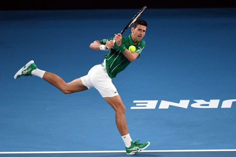 Djokovic e a estreia vitoriosa no Australian Open: «Foi um encontro complicado»