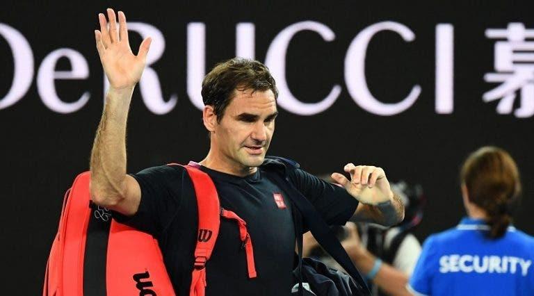 Federer: «As pessoas acham que o ténis é demasiado fácil para mim e que não treino»
