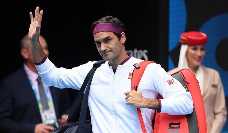 Australian Open: arrancam os 'quartos' com Federer de volta à sessão diurna