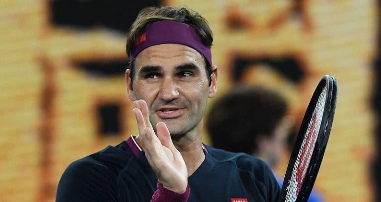 O que é que Federer vai fazer quando se retirar do ténis? O suíço revela