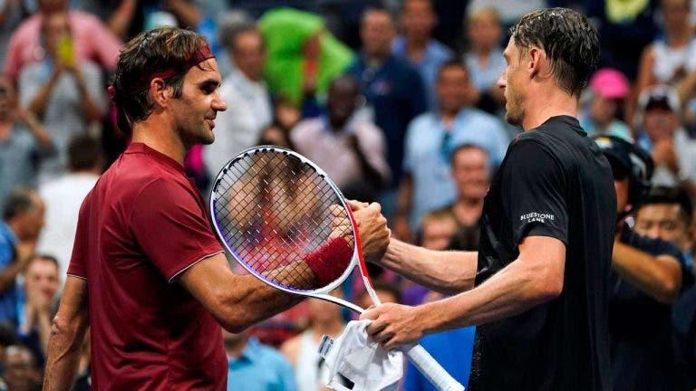 Millman sobre o reencontro: «Defrontar o Federer é o teste mais duro que há no ténis»