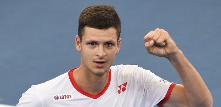 A incrível semana de Hurkacz: bate Thiem, elimina a Áustria e vai ser cabeça-de-série do Australian Open