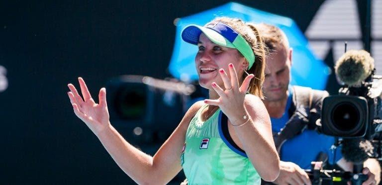 Kenin, a mais jovem finalista na Austrália desde Ana Ivanovic
