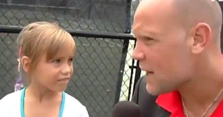 [VÍDEO] Aos 7 anos, Kenin só queria responder ao serviço de Andy Roddick