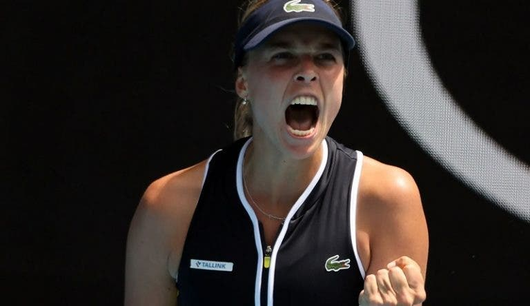 Brady com ressaca difícil: Kontaveit arrasa vice-campeã do Australian Open