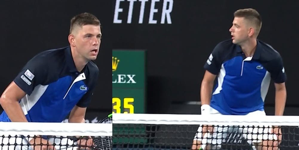 [VÍDEO] Absurdo: passing de Federer deixou Krajinovic com esta cara