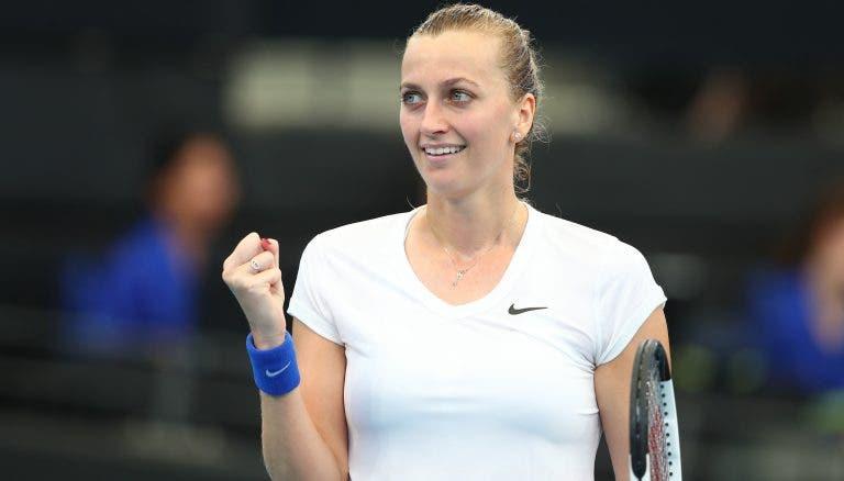 Keys e Kvitova marcam duelo nas meias-finais de Brisbane