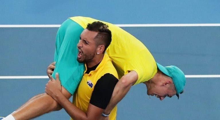 Kyrgios e De Minaur desfalcam Austrália para a receção ao Brasil na Taça Davis
