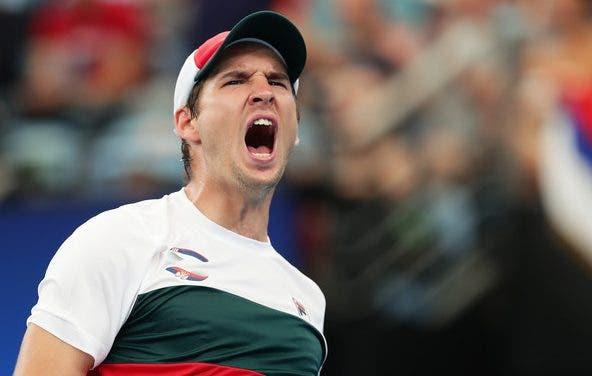 Lajovic bate Khachanov em exibição quase perfeita e deixa Sérvia às portas da final da ATP Cup