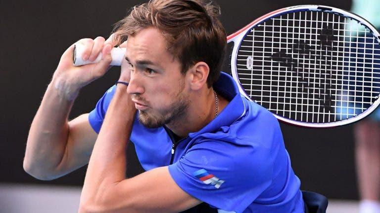Medvedev: «Não me surpreendia se o Nadal, Federer e Djokovic ganhassem todos os Grand Slams em 2020»