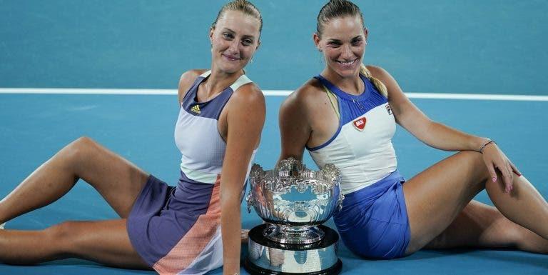 Mladenovic e Babos reconquistam Australian Open dois anos depois