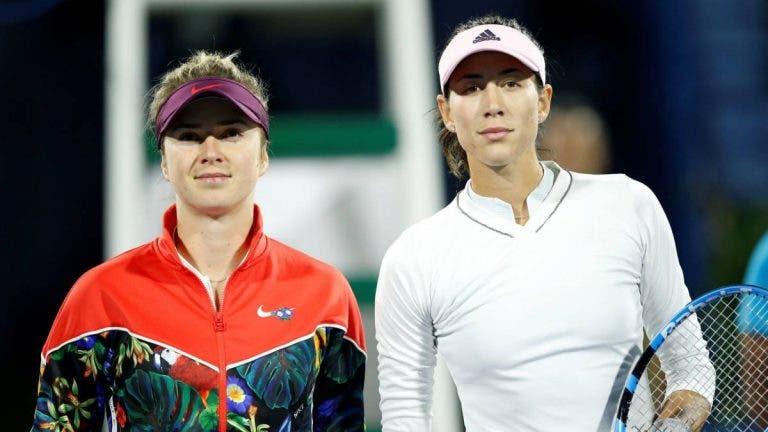 Australian Open: siga Garbiñe Muguruza vs. Elina Svitolina no nosso live center