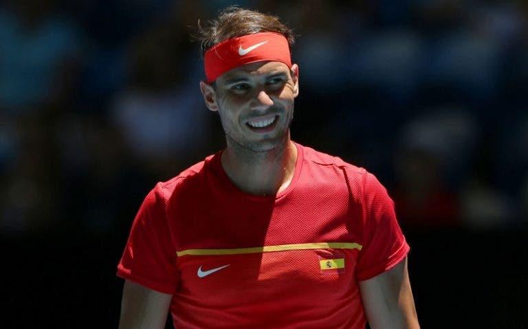 Rafael Nadal e a decisão com a Sérvia: «Será uma final muito complicada»