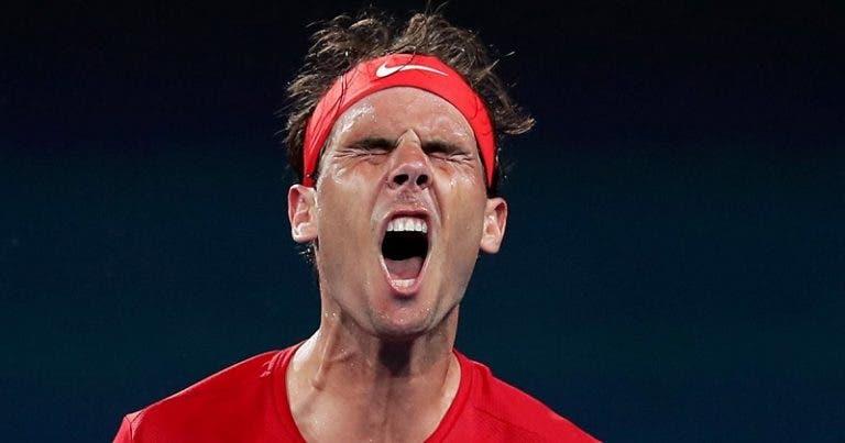 Rafa Nadal derrotado por David Goffin nos 'quartos' da ATP Cup
