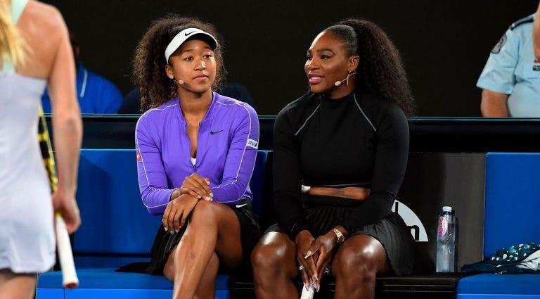 Osaka sobre Serena: «Ainda tenho um pouco de medo dela»