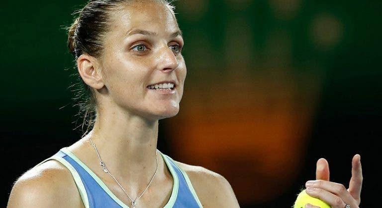 Karolina Pliskova segue sólida rumo à terceira ronda
