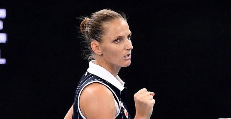 Pliskova bate Keys e conquista Brisbane pela terceira vez