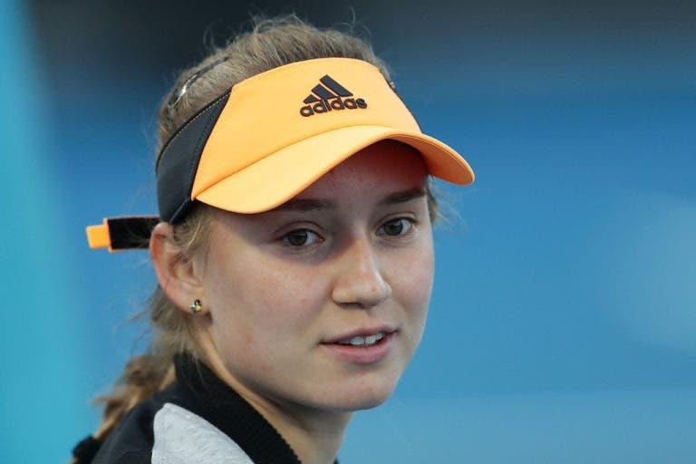 Elena Rybakina e Zhang decidem o título no WTA de Hobart