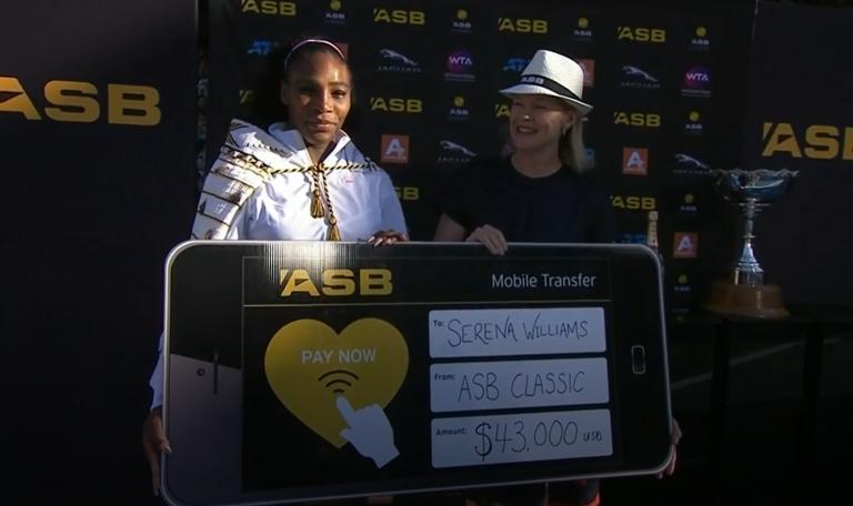 Serena Williams doou todo o seu prize-money às vítimas dos incêndios