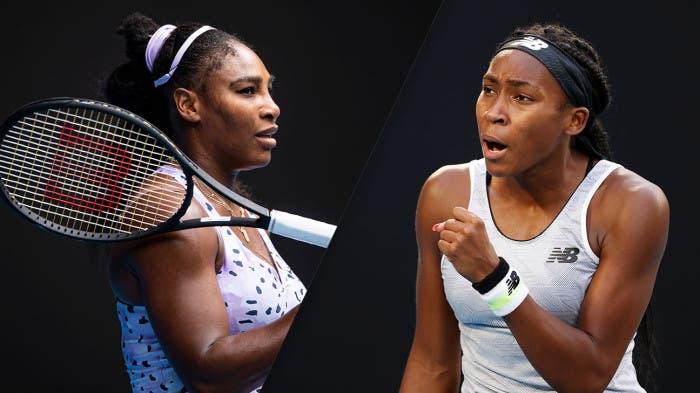 Serena Williams e Coco Gauff juntas na seleção da Fed Cup