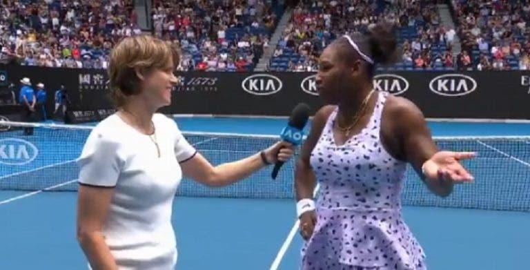 Serena: «Eu tento dizer à minha filha que sou alguém na vida, mas…»