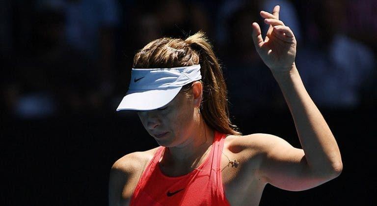 Sharapova vai sair do top 350 do ranking WTA após o Australian Open