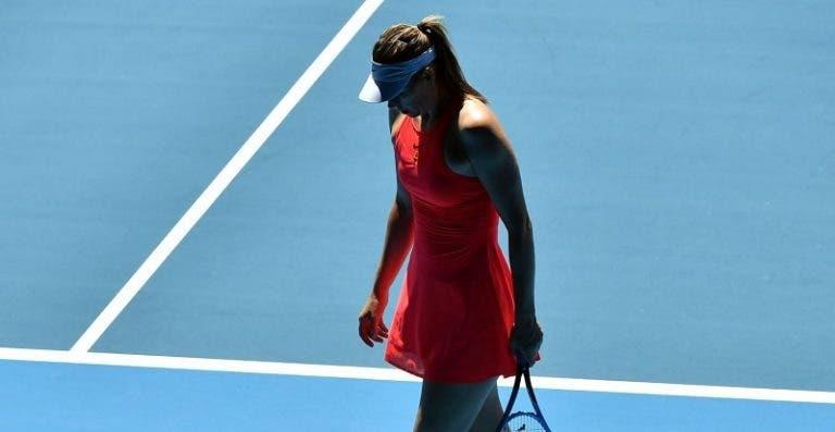 Será que Sharapova vai voltar ao Australian Open? «Não sei como será a minha vida daqui a um ano»