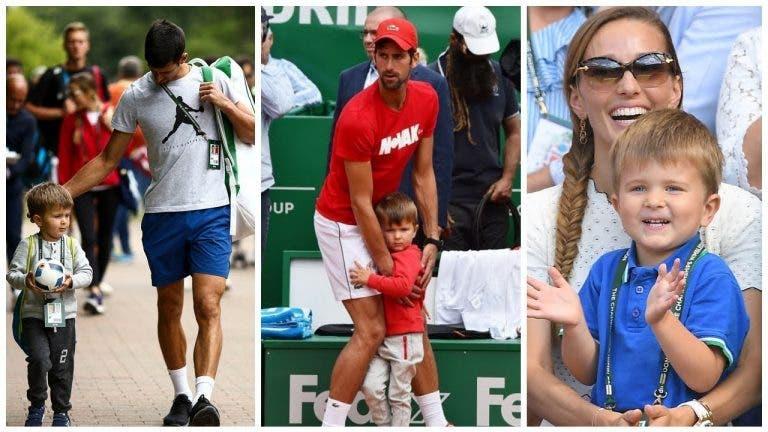 Djokovic: «O meu filho já sabe quem são Federer e Nadal»