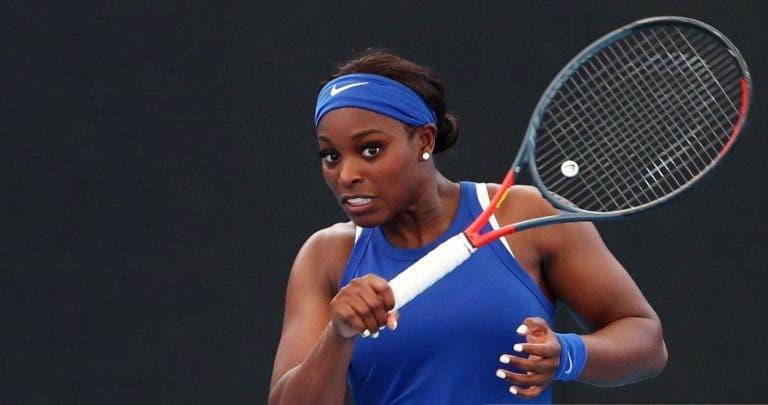 Sloane Stephens: «Ainda estou longe de jogar o meu melhor ténis»