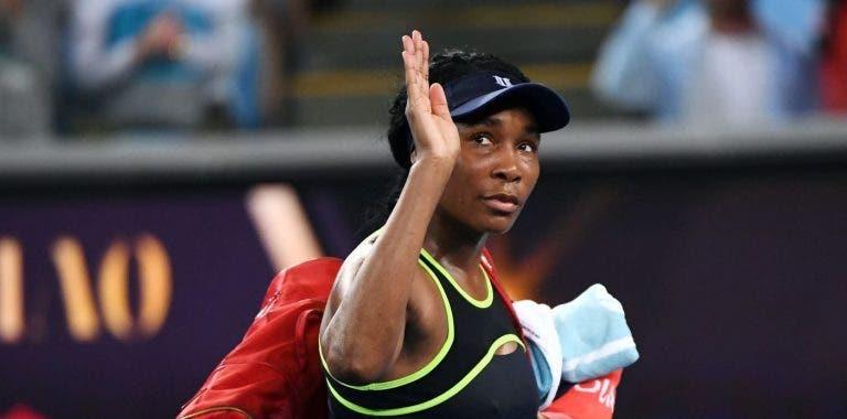 Venus Williams vai jogar pares mistos da Austrália com o número 1 mundial