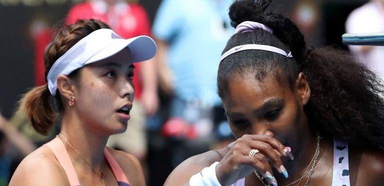 [VÍDEO] Foi assim que Wang deixou Serena em choque no Australian Open