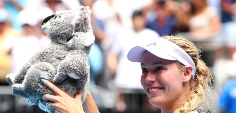 Wozniacki: «Fez sentido terminar a minha carreira com um erro de direita»