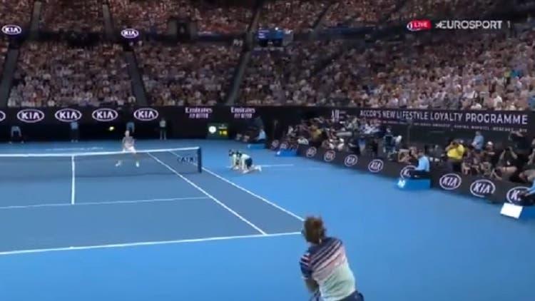 [VÍDEO] Que loucura! Zverev protagoniza um dos pontos do torneio