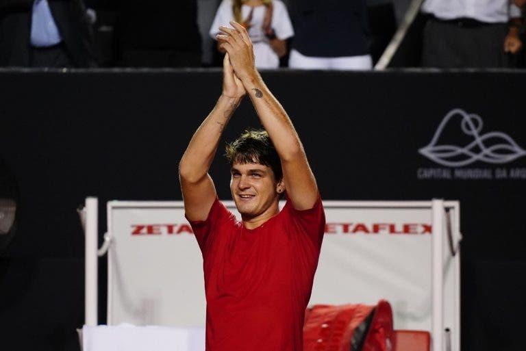 ATP Santiago: Siga a final mais importante da carreira de Thiago Wild frente a Casper Ruud