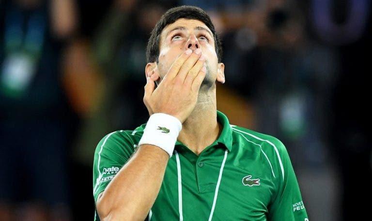 Incrível: Djokovic já conquistou os mesmos pontos que o oitavo melhor jogador de 2019