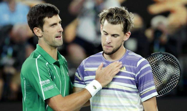 [VÍDEO] Veja o intenso treino de Djokovic e Thiem antes do ATP de Viena
