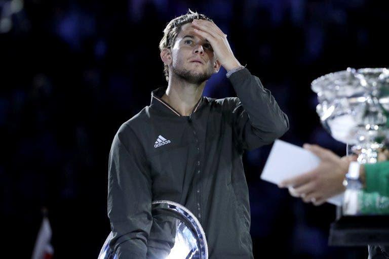 Thiem exausto após derrota com Djokovic: «Raramente me sinto assim tão cansado»