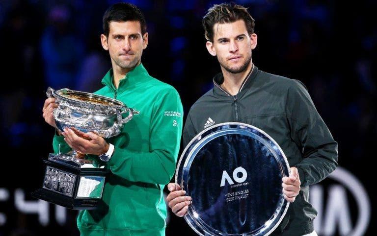 Thiem: «Espero ganhar o meu primeiro Grand Slam com o Djokovic, Federer e Nadal no ativo»