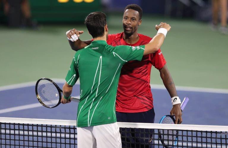Monfils deixa mensagem a Djokovic: «Não te consigo ganhar, meu amigo»