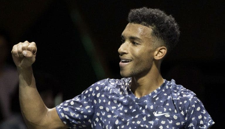 Auger Aliassime iguala maior final da carreira no ATP 500 de Roterdão
