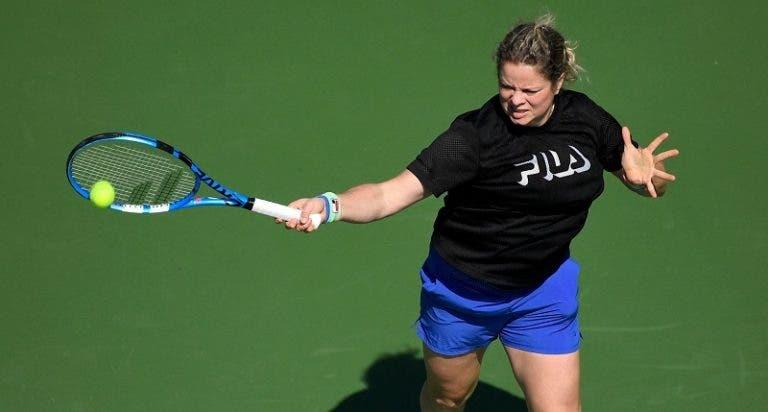 Kim Clijsters revela um dos seus grandes objetivos para a carreira