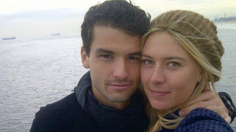 Dimitrov reage ao adeus da sua ex-namorada Sharapova: «Muito amor e respeito por ela»