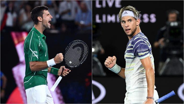 Final do Australian Open: as 5 chaves para Thiem ter chances de derrotar Djokovic