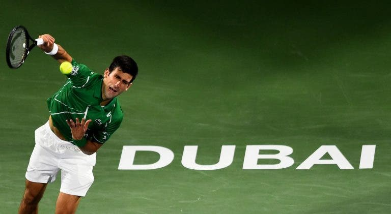 Novak Djokovic confirma regresso ao Dubai em 2021