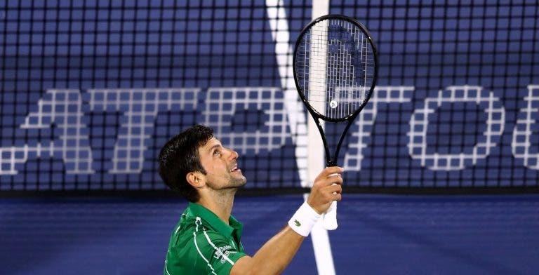Djokovic voa sobre Khachanov rumo às 'meias' no Dubai e segura número 1 ATP