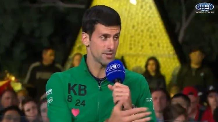 Djokovic justifica 'medical time out' após terceiro set: «Não estou lesionado, mas foi estranho»